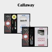 캘러웨이 디아블로 투어 3구 볼마커 / 기능성티 볼빅 양말세트