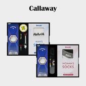 캘러웨이 ERC SOFT 3구 볼마커 / 기능성티 볼빅 양말세트