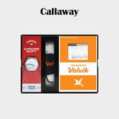 캘러웨이 크롬소프트 / 크롬소프트X 3구 볼빅 장갑 양말세트