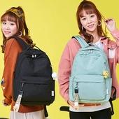 심플컬러백팩 / 패션 일상 학생 책가방 백팩 컬러다양 여행  패션가방 가방 로고가능