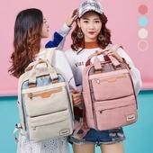 아몬드백팩 / 패션 일상 학생 책가방 백팩 컬러다양 여행  패션가방 가방 로고가능