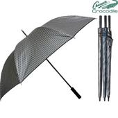 크로커다일 75-펄 스트라이프 장우산