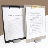 에코&골드 클립보드 메뉴판 (A4-대)