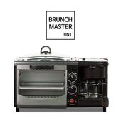[메모렛] 3in1 브런치마스터 (미니오븐 프라이팬 커피메이커)