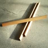 원목 우드 삼각 연필