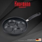 독일 카우프만 4구 계란팬 24cm