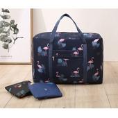 고급 캐릭터 여행용 폴딩 가방(캐리어보조가방)