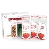 키친락 K-0030 (냉장고밀폐용기,냉장고정리용기)