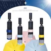 3단 AUTO 거꾸로 접이식 빛반사우산-컬러다양/자외선차단/양산겸용/리버설