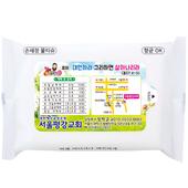 깨끗한 전도용 손세정 화이트 물티슈(10매)
