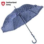 스위칠랜드아미 잔꽃무늬레이스 우산