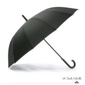 [HAS] 헤즈 12살 블랙 자동 솔리드 장우산 HS1A1258(BK)