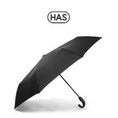 [HAS]헤즈 3단 J형 완전 자동 우산_HS3JA3860(BK)