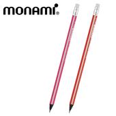 모나미-바우하우스 삼각지우개연필(B,HB,2B)