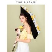 [타임앤러버]FLOWERS 자외선차단 유틸리티 쉐이드 3단우산 5단우산 우양산 양우산