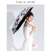 [타임앤러버]LAZY 자외선차단 유틸리티 쉐이드 3단우산 5단우산 우양산 양우산