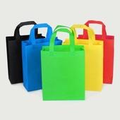 단색 컬러 부직포 쇼핑백 (소/대) 튼튼한가방