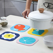 키친데코 실리콘받침대 - 캐릭터/ 캐릭터다양/냄비받침대/컵받침대/주방용품 집들이선물 인쇄가능