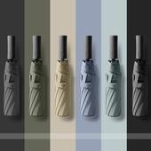 Cochons M1 3단자동 양우산 자외선차단 우산 암막양산