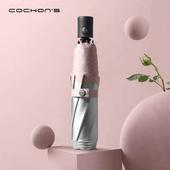 Cochons M4 티타늄코팅 3단자동 양우산 자외선차단 우산 암막양산