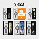 타이틀리스트 pro v1x 3구 선물세트(4pc) 맞춤 볼마커