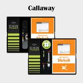 캘러웨이 CXR POWER 3구 볼마커 / 기능성티 볼빅 양말세트