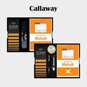 캘러웨이 CXR CONTROL 3구 볼마커 / 기능성티 볼빅 양말세트