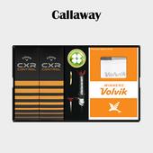 캘러웨이 CXR CONTROL 6구 볼마커 볼빅양말세트