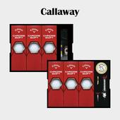 캘러웨이 크롬소프트 9구 볼마커 / 기능성티세트