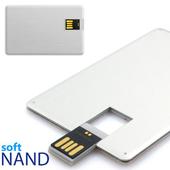 [소프트낸드] 메탈 카드형USB메모리 2.0 4G
