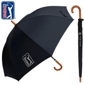 PGA 70수동 블랙우드 슬라이드 장우산