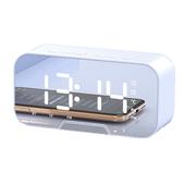 [일렉트로맥스] 멀티 블루투스 스피커+시계+알람+거치대+거울 일체형/ BW01