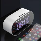 [일렉트로맥스] 멀티 블루투스 스피커+시계+알람+거울 일체형/ BM02