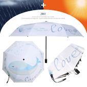 3단 암막 양우산- 꿈고래 / UV 자외선차단/양산겸용/리버설/우산/양우산/우양산/암막양산/UV차단