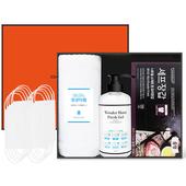 코로나 생활안심세트-VM302 (항균타월 1P + 손소독제 500ml 1P + 니트릴장갑 1box + 마스크10P)