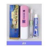 국산 어린이칫솔1P+페리오치약50g세트 / 고급 치과용 칫솔/애경/크리오/2080/부광/여행용세트/컵/치실