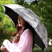 레이스 양산 UV 4단 우산 시리즈 8k