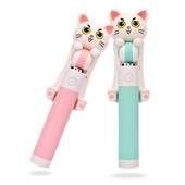 고양이셀카봉 차량용거치대 핸드폰거치대 겸용 NAO-2070