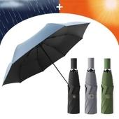3단 암막 양우산 - 네츄럴 / UV차단/컬러다양/자외선차단/양산겸용/우산/리버설