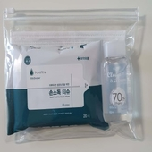 예방생활키트세트(마스크1매+손소독물티슈+손소독제)