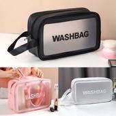 워시백 방수 세면 파우치 화장품케이스 여행용 목욕가방 중형