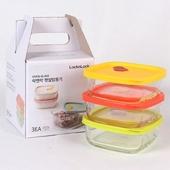 락앤락 오븐글라스 햇쌀밥용기 320ml 3P (전용박스)