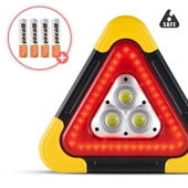 세이프 X 차량용 LED 안전 삼각대, 대형 BIG SIZE, 비상 경고등