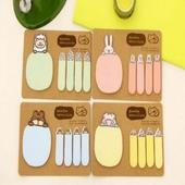 귀여운 동물 메모지 포스트잇