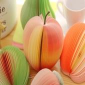 과일 메모지 / 사과 귤 포스트잇