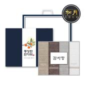 [추석세트/띠지감사장세트] 송월 샤보렌 그리드 4매세트