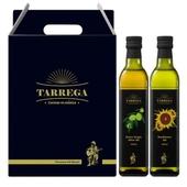 스페인 타레가 올리브유 선물세트 올리브유 + 해바라기 500ml (2P)