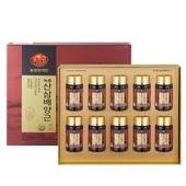 천지인 녹용 산삼배양근 75ml x 10병 (선물용 쇼핑백 포함) 품격있는 선물