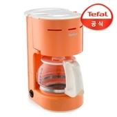 테팔 델피니 오렌지 커피메이커 cm321fkr