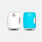 로얄민스터 다목적 화장품(차량용) 냉/온장고5L(화이트/블루)